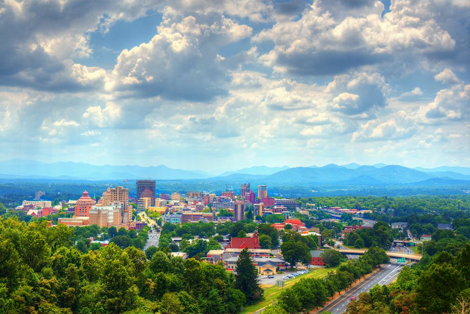 asheville stock photo